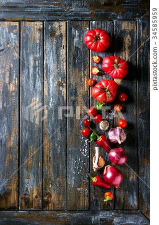 Variety of vegetables 34585959