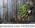Variety of herbs 34585986