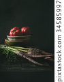 Still life with vegetables 34585997