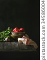 Still life with vegetables 34586004