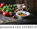 湯 蔬菜 食物 34586019
