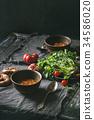 汤 胡萝卜 烹饪 34586020
