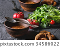 soup vegetable food 34586022