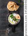 labneh fresh lebanese cream cheese dip 34586046