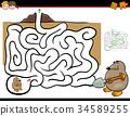 迷宫 智力测验 谜 34589255