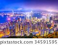 Hong Kong Skyline 34591595