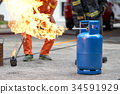 Fire fighting training you how to fire properly.  34591929