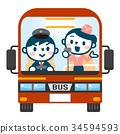관광 버스 투어 34594593