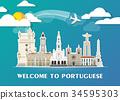 Portuguese Landmark Global Travel And Journey. 34595303