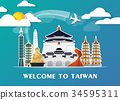 Taiwan Landmark Global Travel And Journey. 34595311
