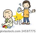 嬰兒 寶寶 寶貝 34597775
