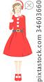 聖誕老人 聖誕老公公 角色扮演(用服飾裝扮) 34603660