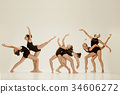 ballet, dancer, female 34606272
