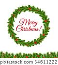 Wreath 34611222