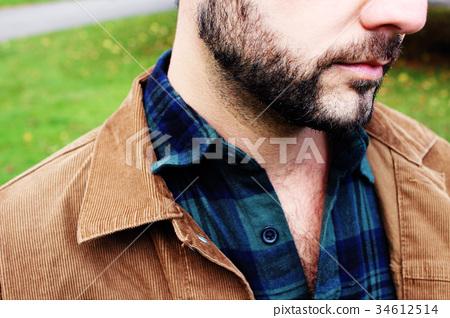 男性性感小雞和胸毛 34612514