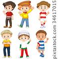 youth childhood boy 34617015