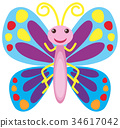 character butterfly bug 34617042