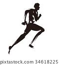 马拉松赛跑 田径赛事 长距离接力赛 34618225