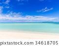 리조트, 해변, 바다 34618705