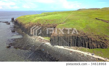 Xiyuping basalt aerial shot 34618968
