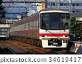 keio corporation, keio railway, keio line 34619417