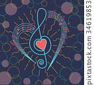 logo icon musical 34619853