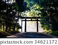 meiji shrine, meiji jingu, Torii Gate 34621372