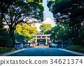 meiji shrine, Torii Gate, torii 34621374
