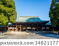 meiji shrine, meiji jingu, main temple 34621377