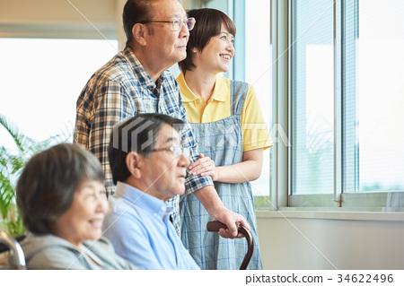 요양 시설 노인 데이 서비스 34622496