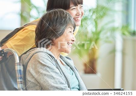 요양 시설 노인 데이 서비스 34624155