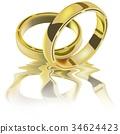 Two Wedding Rings 34624423