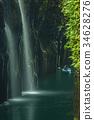 takachihokyo, manai, waterfall 34628276