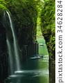 takachihokyo, manai, waterfall 34628284