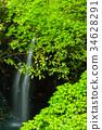 takachihokyo, manai, waterfall 34628291