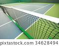indoor tennis court 34628494