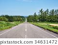 kiyosato, road, hill 34631472