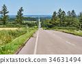 kiyosato, road, hill 34631494
