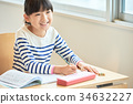 elementary student, primary school child, primary school student 34632227