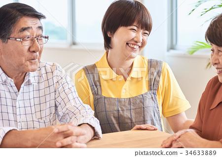 요양 시설 노인 생활 34633889