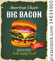 poster burger bacon 34634905