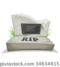 stone, tomb, rip 34634915