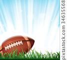 American Football Background 34635568