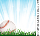 Baseball Background 34635569