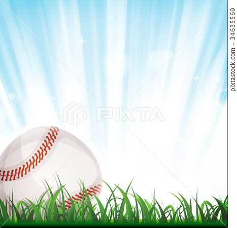 Baseball Background 34635569