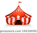 circus, tent, big 34636690