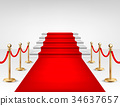 carpet, red, vector 34637657