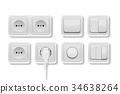 socket, plug, power 34638264