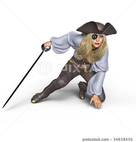Female pirates 34638430