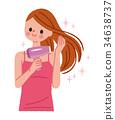 女性 女 女人 34638737